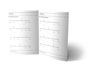 werkbladen getallenlijn groep 4
